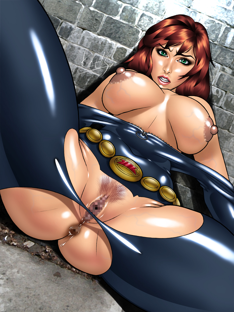 the avengers black nude widow Dexters lab mom at pool