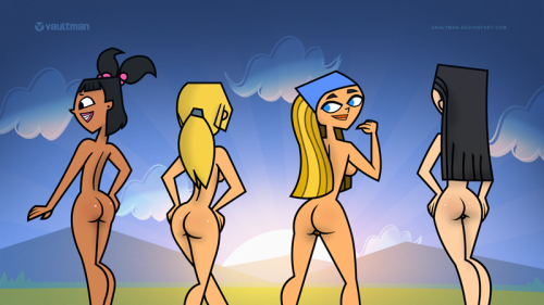 island boobs drama total heather Ace of clubs justice league