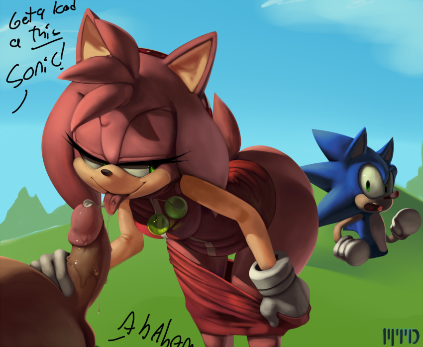 sonic how is from amy old Aquamarine and topaz steven universe