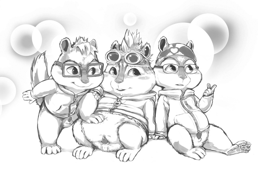 chipmunks whos the and best the alvin head getting Deep space waifu flat justice nude