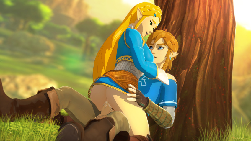 naked breath the wild link of No game no life nudity